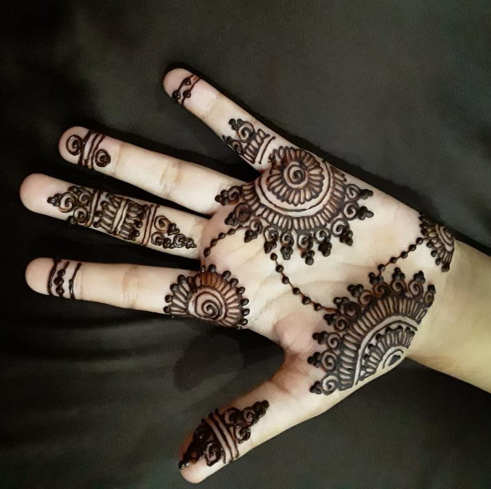 Motifs Henna Mehndi Design